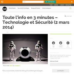 Technologie et Sécurité (2 mars 2014)