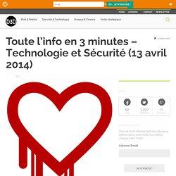 Technologie et Sécurité (13 avril 2014)