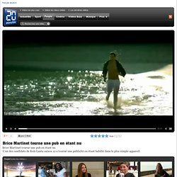 20 Minutes Online Videoportal - Brice Martinet tourne une pub en étant nu