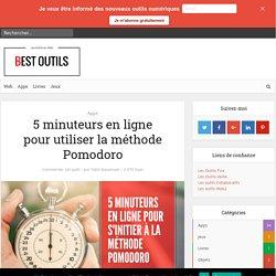 5 minuteurs en ligne pour utiliser la méthode Pomodoro