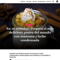 En 10 minutos: Prepara el más delicioso postre del mundo con manzana y leche condensada