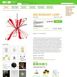 MIO Bendant Lamp - Create