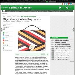 Mipel shows 300 handbag brands - Lifestyle