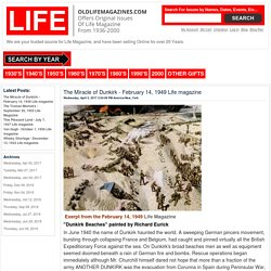 Blog - The Miracle of Dunkirk - February 14, 1949 Life magazine