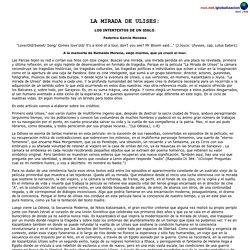 La Mirada de Ulises: Los Intertextos de un siglo