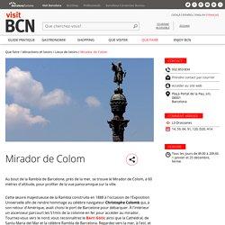 Mirador de Colom - Visit Barcelona