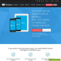 Mobile Device Management for education