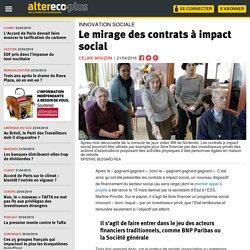Le mirage des contrats à impact social