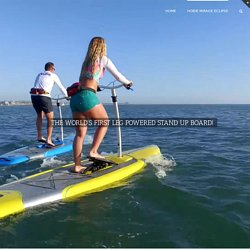 Hobie Mirage Eclipse Review - Leg Powered Stand Up Board