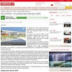 Fac du Mirail : un campus tout neuf pour 2016 - 16/04/2013