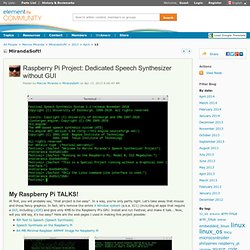 MirandaSoft!: Raspberry Pi Project: Dedicated S