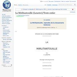 La Mirlitantouille (Lenotre)/Texte entier