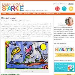 Joan Miro Art Lesson