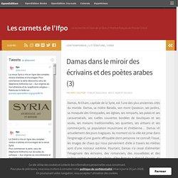 Damas dans le miroir des écrivains et des poètes arabes (3) – Les carnets de l'Ifpo