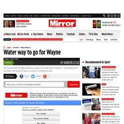 Water way to go for Wayne - mirror Administrator