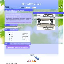 Mirror effect - Image Mirror Effect - Picture Mirror Effect online