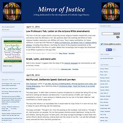 Mirror of Justice - Flock