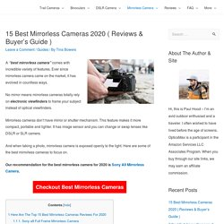 15 Best Mirrorless Cameras 2020 ( Reviews & Buyer's Guide ) - OpticsMax