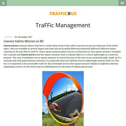 Convex Safety Mirrors in NZ - Traffic Management Plans