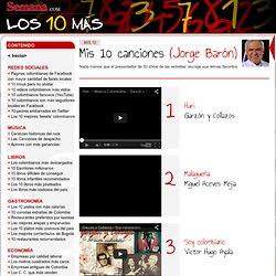 Mis 10 canciones (Jorge Barón)