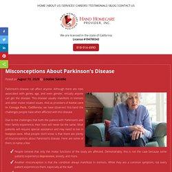 Misconceptions About Parkinson's Disease
