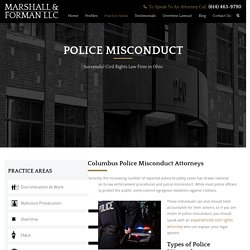 Columbus Police Misconduct Lawyers