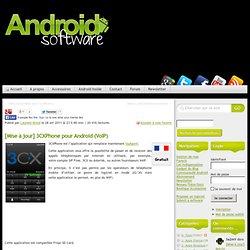 3CXPhone pour Android (VoIP)