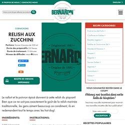 Mise en conserve Bernardin