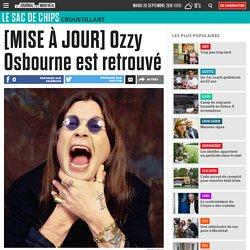 [MISE À JOUR] Ozzy Osbourne est retrouvé