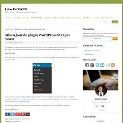 Mise à jour du plugin WordPress SEO par Yoast - Labo JNG WEB