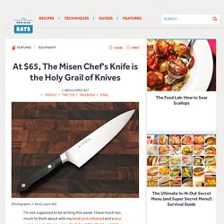 At $65, The Misen Chef's Knife is the Holy Grail of Knives