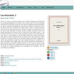 Les Misérables 3 - Hugo, Victor - Télécharger