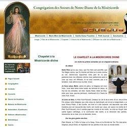 Miséricorde Divine - Sainte Soeur Faustine - Petit Journal – Jésus, j'ai confiance en Toi! - Congrégation