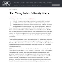 The Misery Index: A Reality Check
