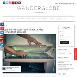 Copier Repair and Photocopier Services