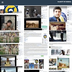 MSM Misinformation: Comparing the Wikipedia Page of the White Helmet Terrorists with the Actual Images From Their Own Facebook Accounts – Clarity of Signal