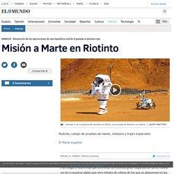Misión a Marte en Riotinto