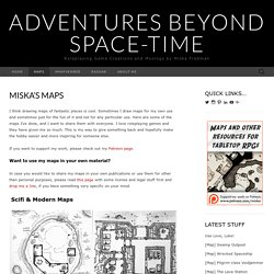 Miska's Maps – Adventures Beyond Space-Time