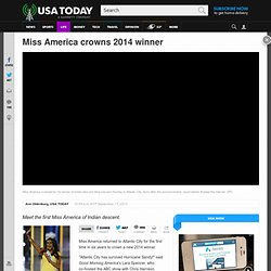 Miss America crowns 2014 winner