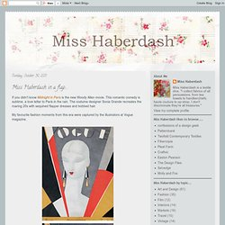 Miss Haberdash: October 2011