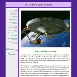 Miss Lake's Earth Science: AOS 92