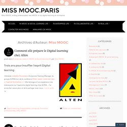 Miss MOOC.Paris