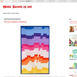 Miss Sews-it-all: December 2012