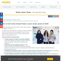 The 12 not-to-be-missed Teach. Learn. Grow. posts of 2019