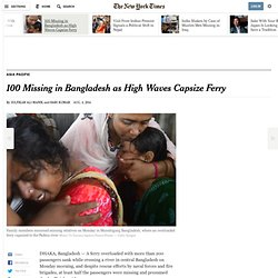 100-passengers-feared-dead-after-ferry-capsizes-in-bangladesh