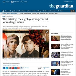 The missing: the eight-year Iraq conflict looms large in Iran