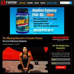 The Missing Element in Female Fitness - Biotest