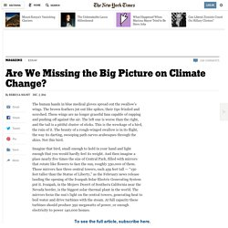 Are We Missing the Big Picture on Climate Change?