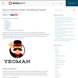 The Missing Tutorial – OpenShift Blog