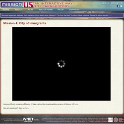 Mission 4: City Of Immigrants